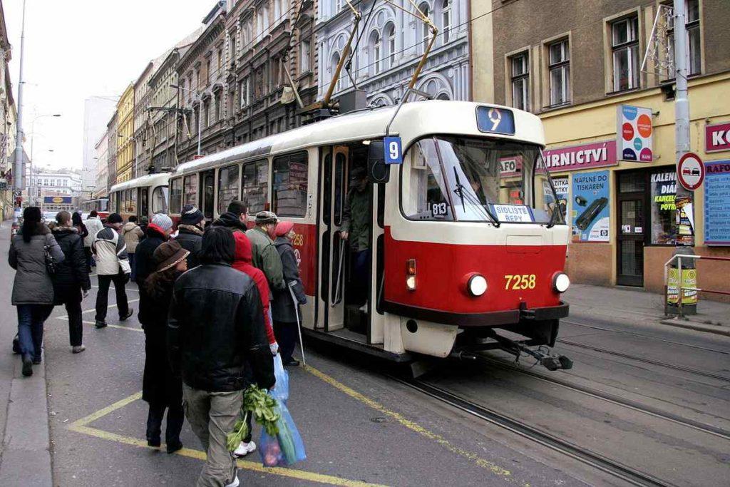 Prague Tram, Czech Republic
