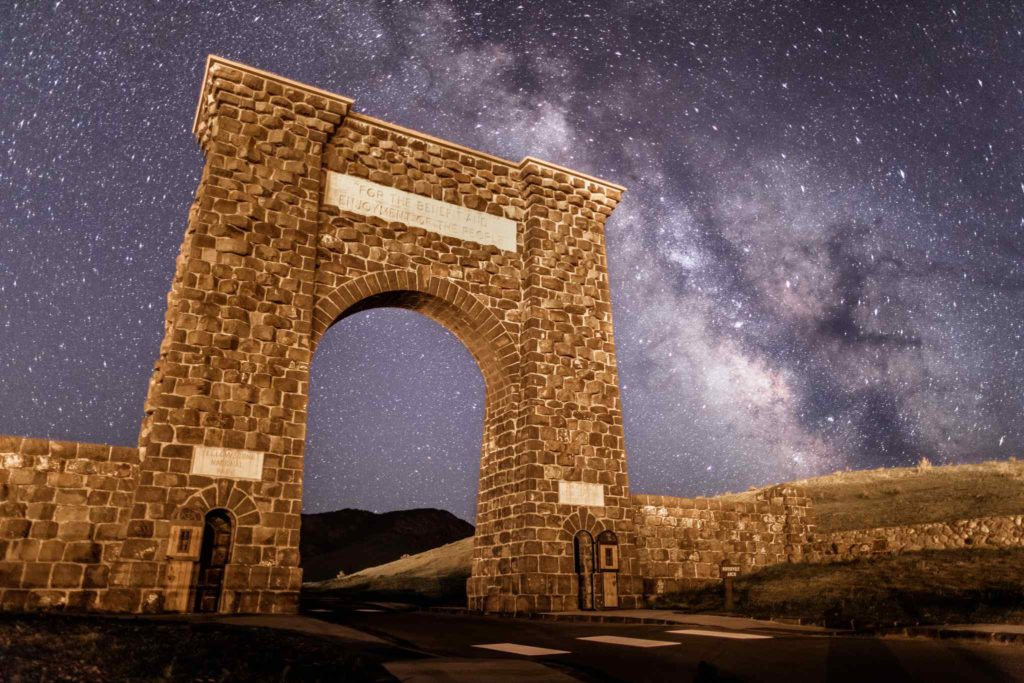 Roosevelt Arch, Montana, United States