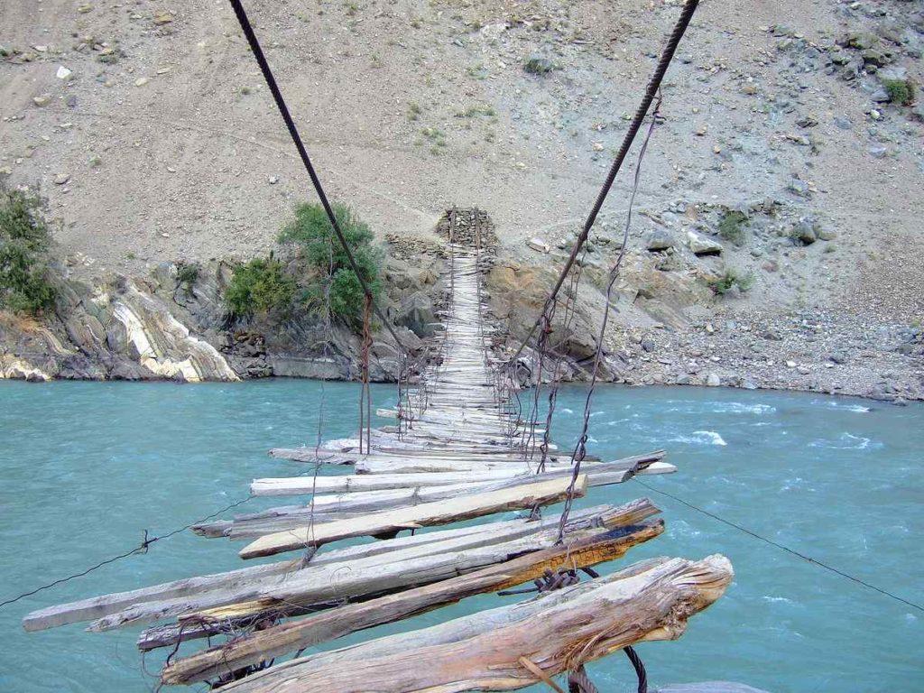 Rope Bridge in Astore Valley