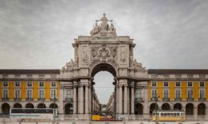 Rua Augusta Arch, Lisbon, Portugal