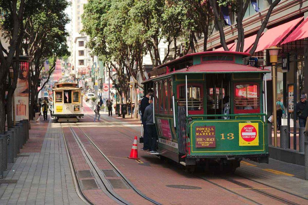 San Francisco's Tram
