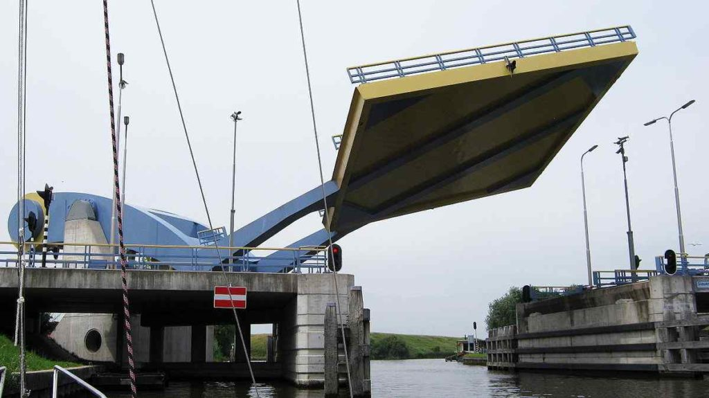 Slauerhoffbrug Bridge, Leeuwarden, Netherlands