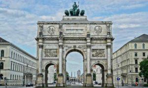 Victory Gate, Munich, Germany