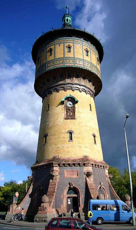 Wasserturm Nord (North water tower), Halle, Germany