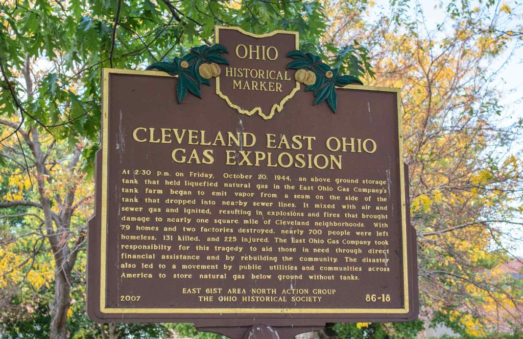 Cleveland East Ohio Gas Explosion