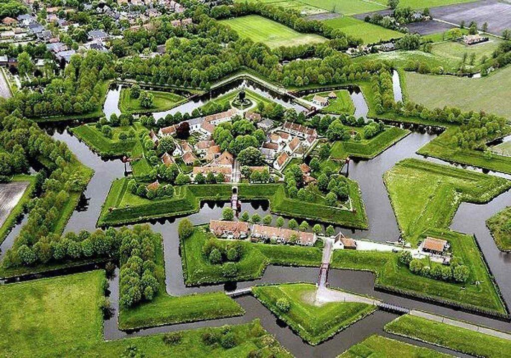 Fort Bourtange, Bourtange, the Netherlands