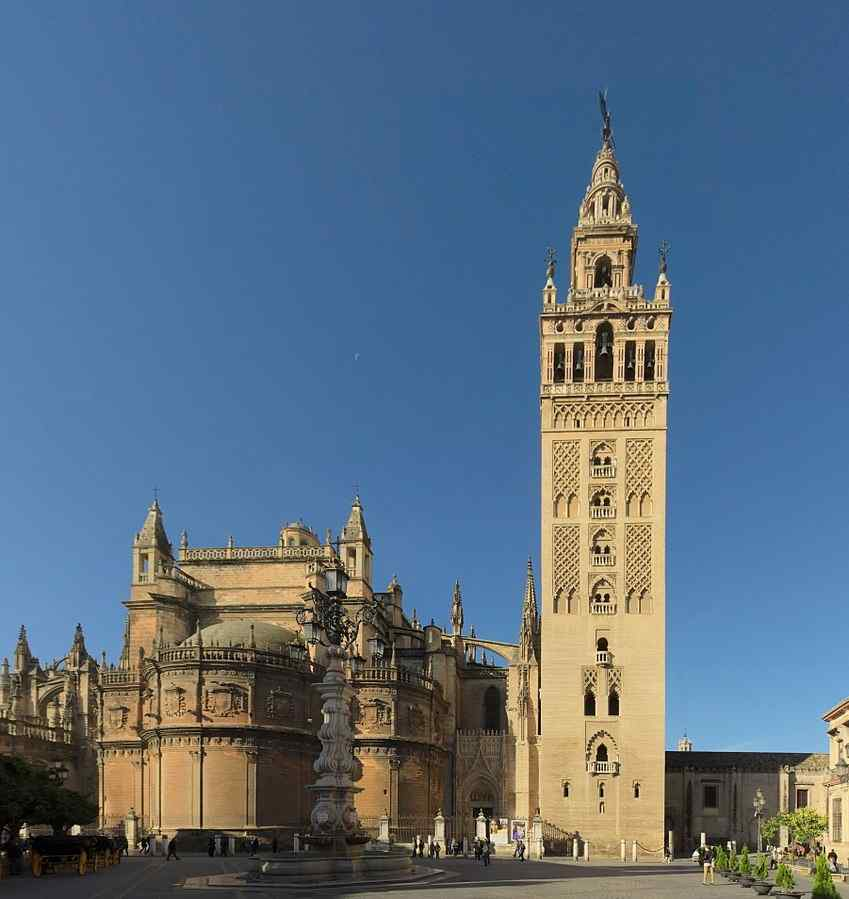 La Giralda, Seville Cathedral, and Spain