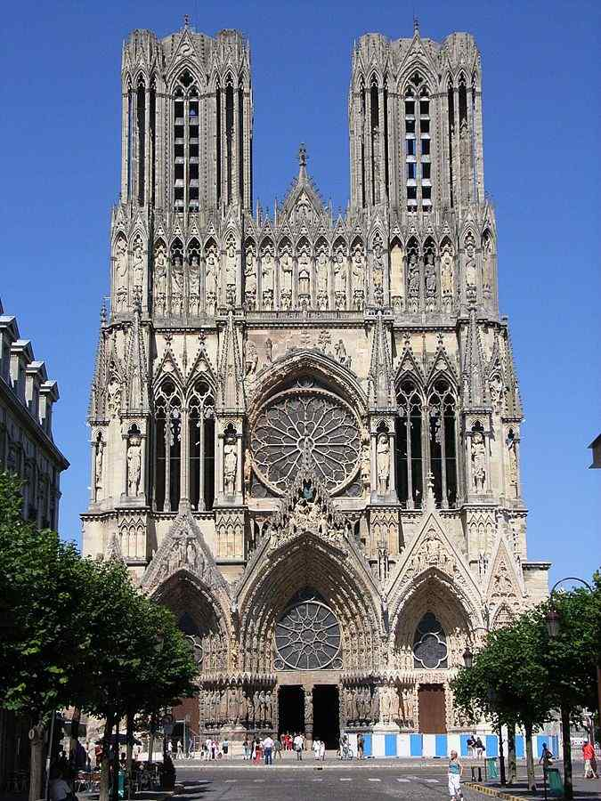 Reims Cathedral, Reims, France