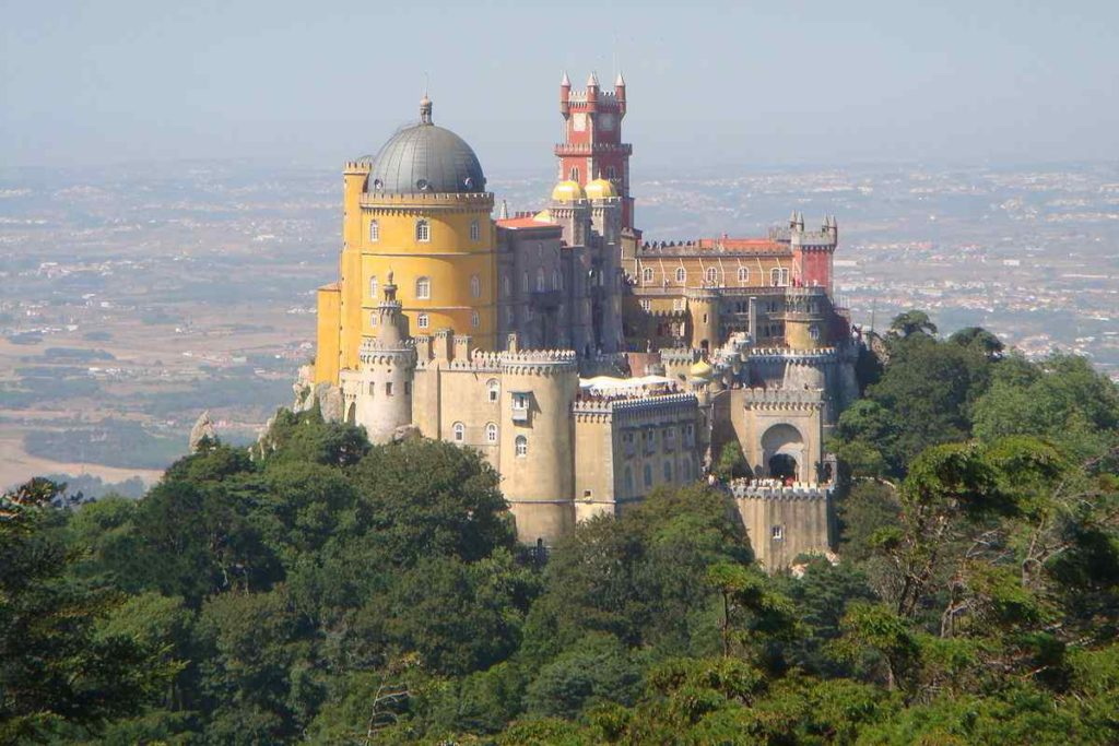 Pena National Palace,Castle in Sintra, Portugal