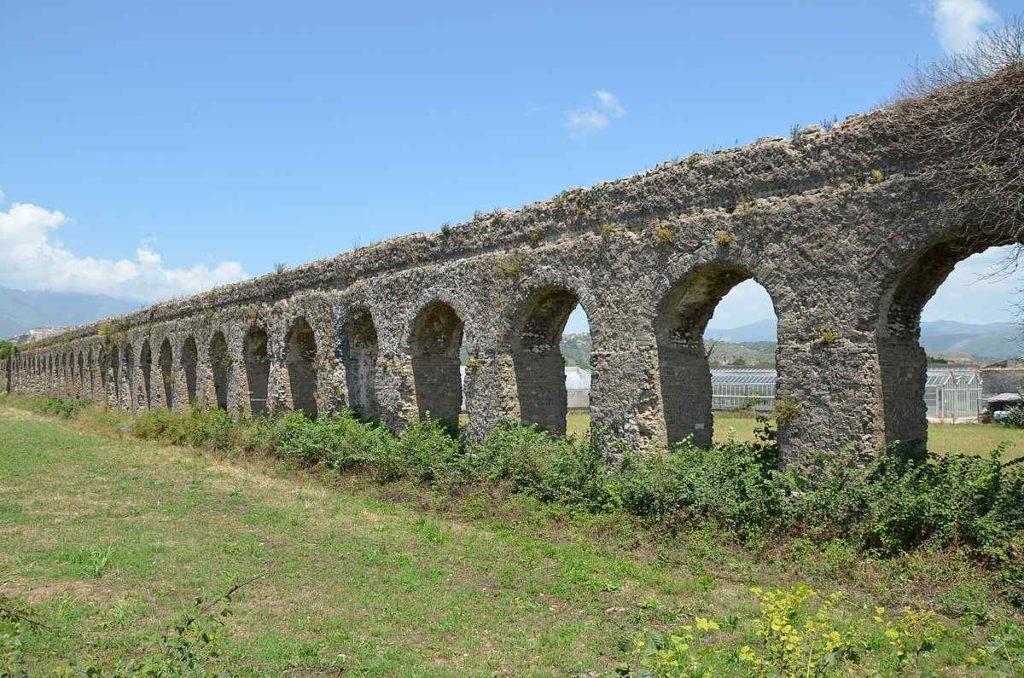 Minturno aqueduct, Minturno, Italy