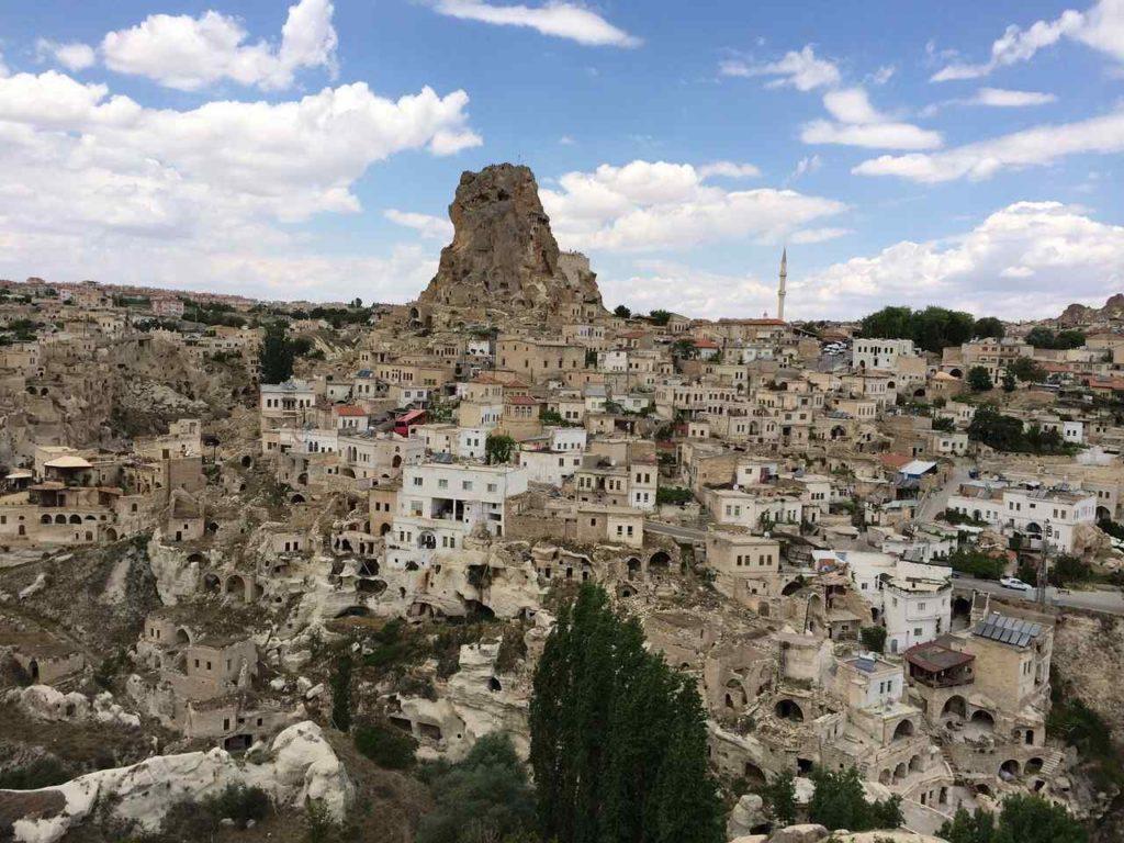 Ortahisar, Ortahisar Castle, Cappadocia