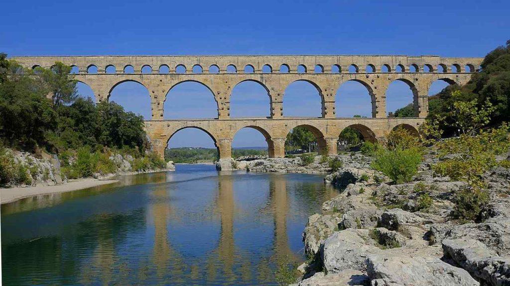 Pont du Gard, Gard, France