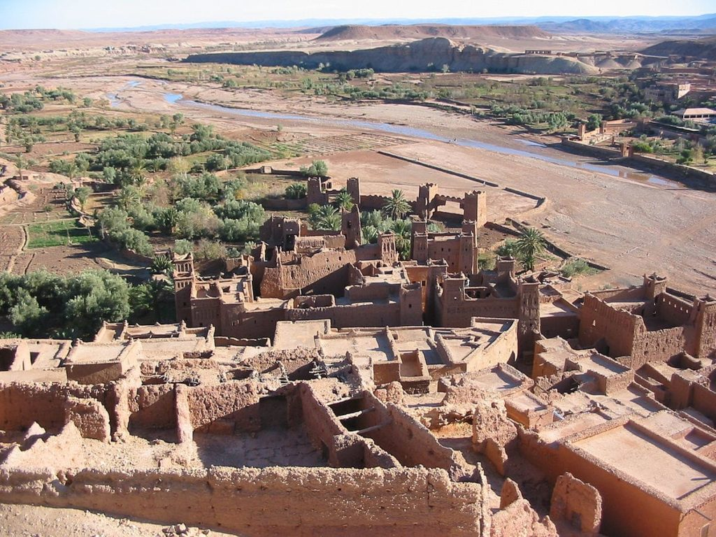 AIT BENHADDOU, Village in Morocco