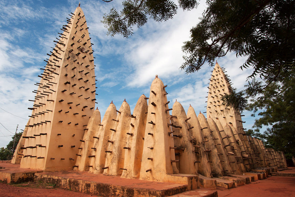 BOBO DIOULASSO GRAND MOSQUE, Burkina Faso