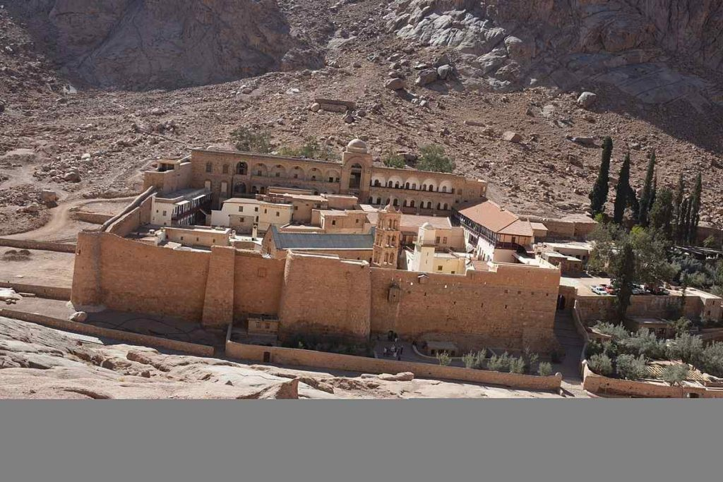 SAINT CATHERINE MONASTERY, Monastery in Egypt