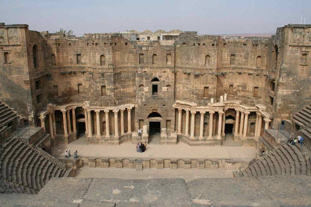 THE ROMAN THEATER OF BOSRA, Syria