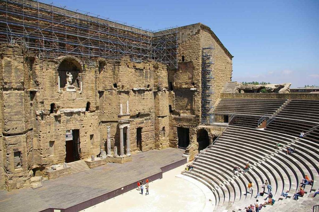 THE ROMAN THEATER OF ORANGE, France