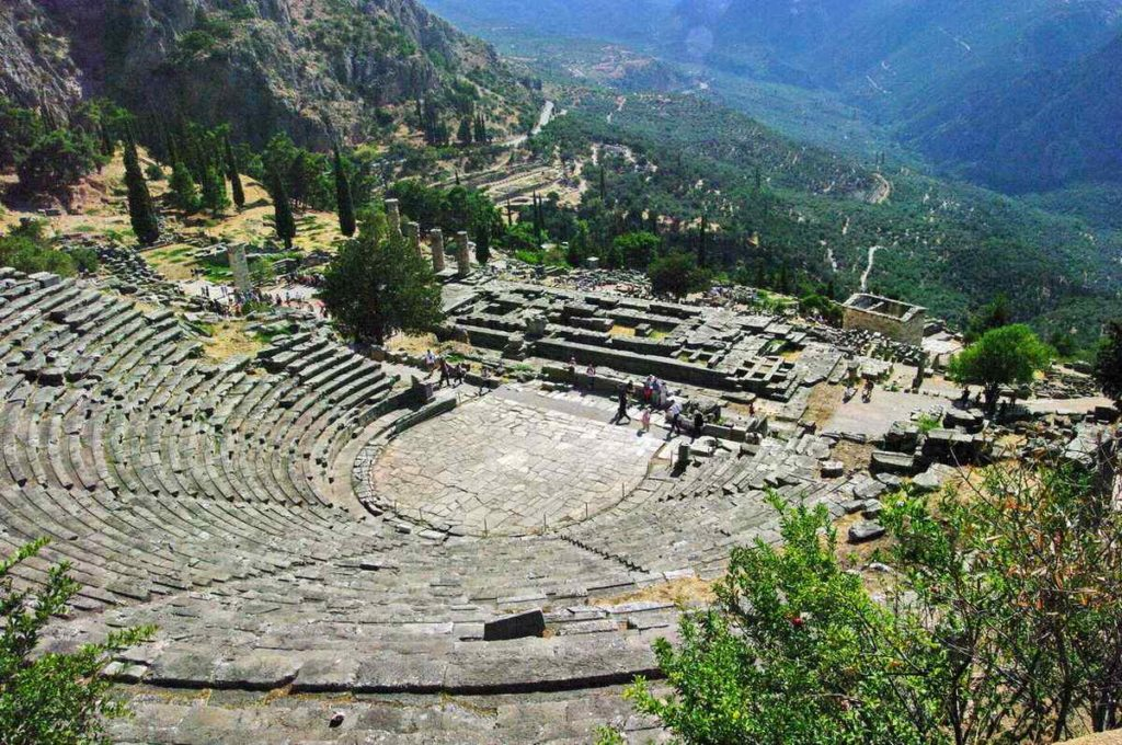 THE THEATER AT DELPHI, Greece