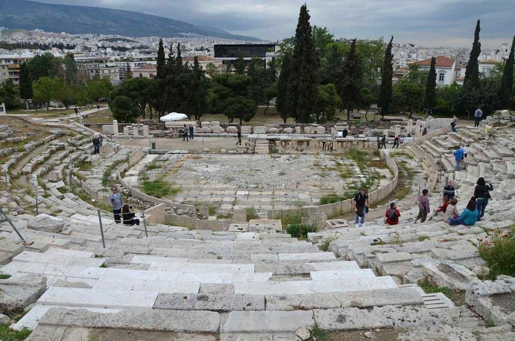 THE THEATER OF DINOSYS, Greece