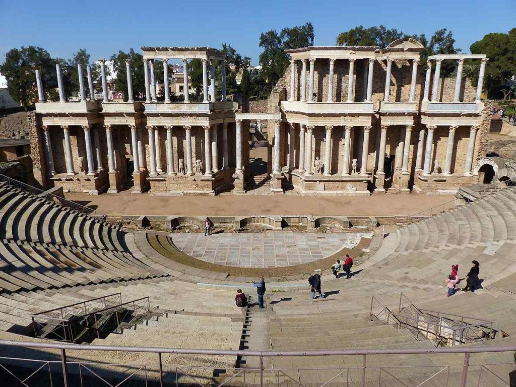 THE THEATER OF MERIDA, Spain