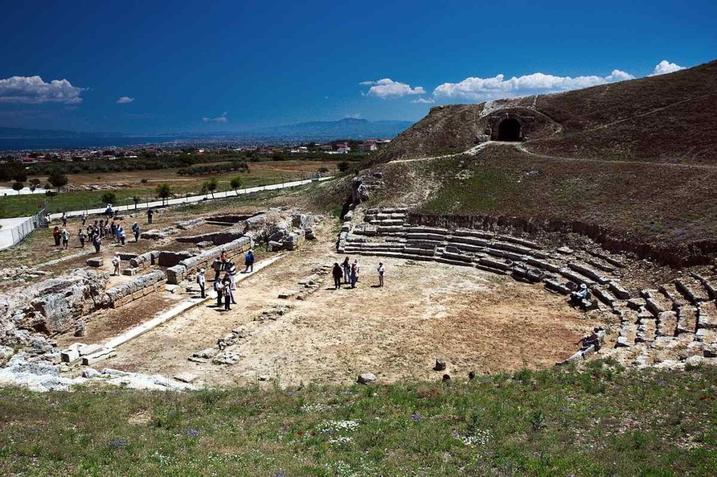 THE THEATER OF SIDE, Greece