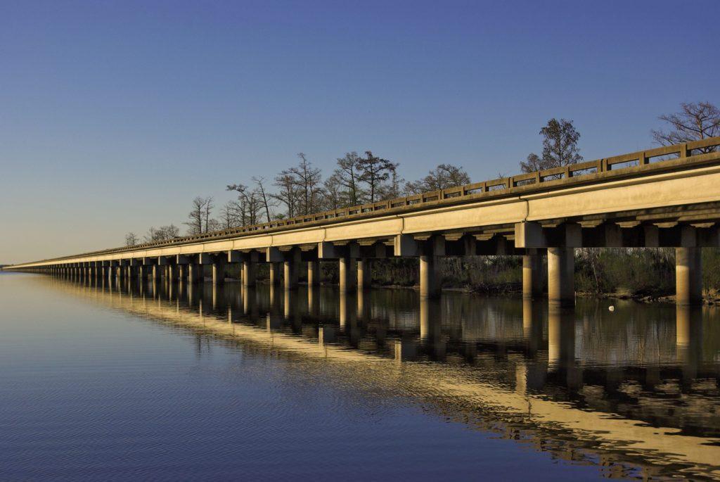 Bonnet Carré Spillway Bridge- 11 Miles (18KM)