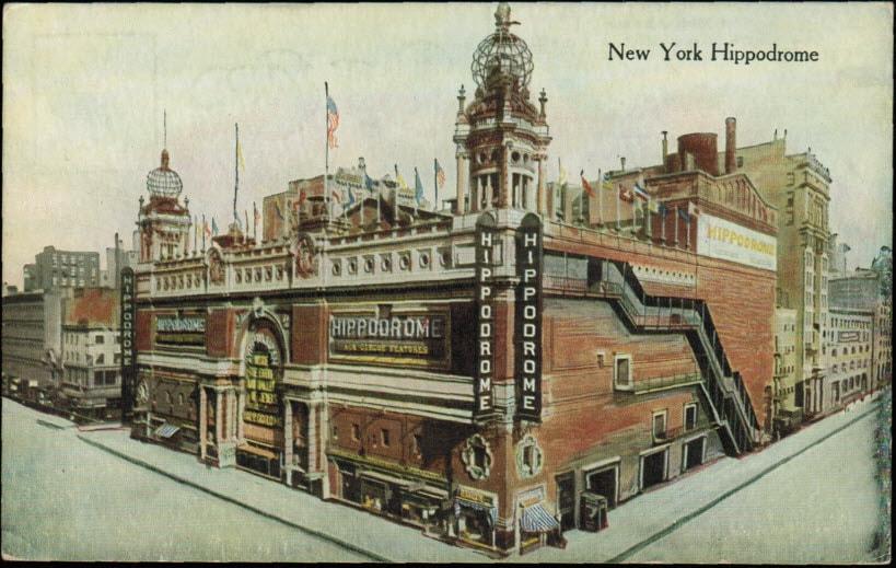 The New York Hippodrome New York