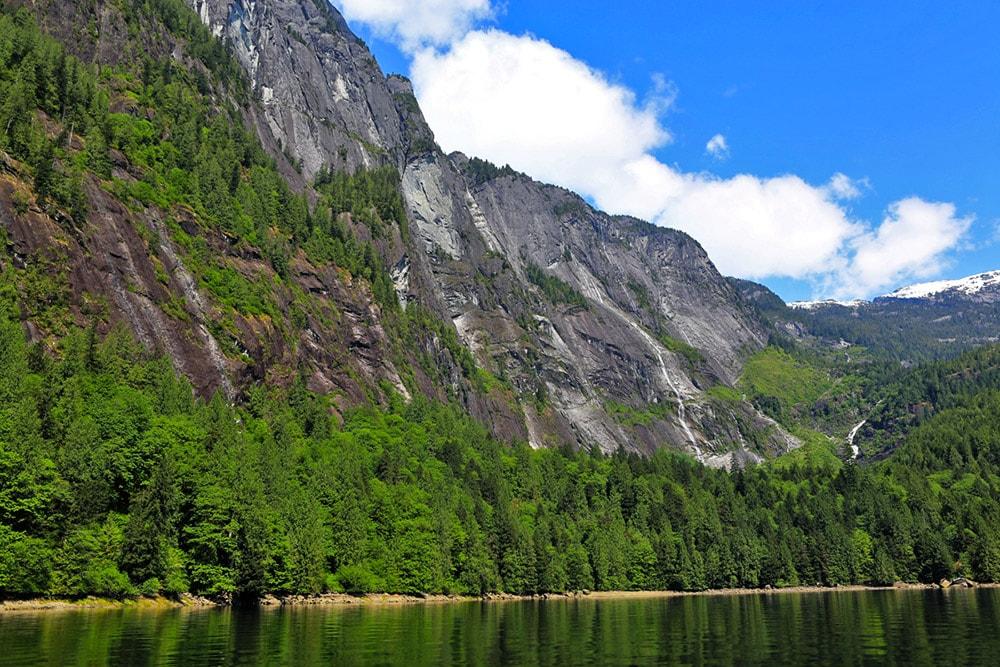 James Bruce Falls, Canada
